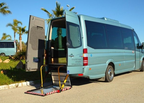 Minibús Mercedes Deluxe para 14 personas. Imagen 1