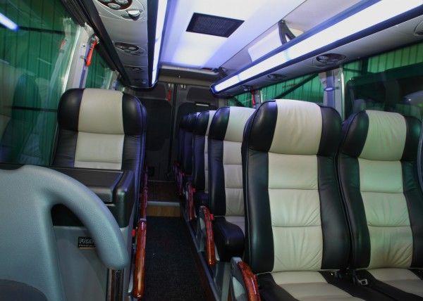 Minibús Mercedes Deluxe para 14 personas. Imagen 3