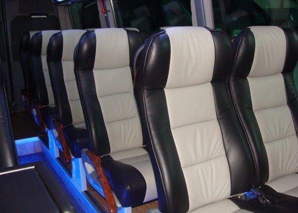 Minibús Mercedes Deluxe para 14 personas. Imagen 4
