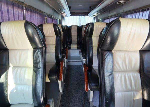 Minibús Mercedes Deluxe para 16 personas. Imagen 3