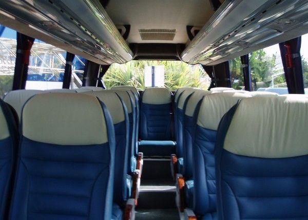 Minibús Mercedes Deluxe para 22 personas. Imagen 3