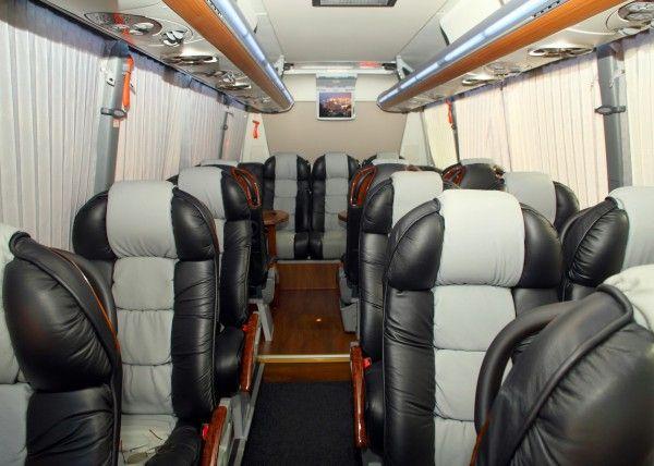 Minibús Mercedes Gran Luxe para 15 personas. Imagen 2