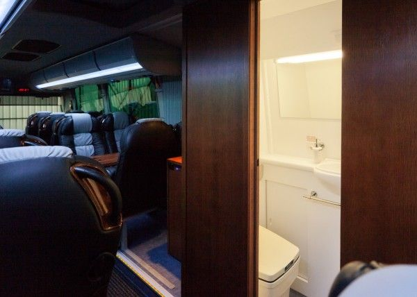 Minibús Mercedes Gran Luxe para 30 personas. Imagen 10