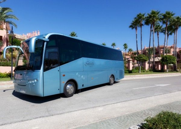 Minibús Mercedes Gran Luxe para 30 personas. Imagen 2